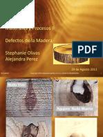Enfermedades y Defectos de La Madera