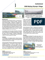 SolarWall PV/T Case Study - 2008 Beijing Olympic Village (solar air heating system + PV)