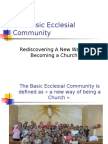 The Basic Ecclesial Community