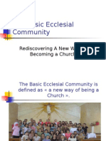 The Basic Ecclesial Community