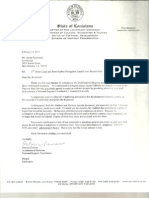 Email from Pat Duncan to Sandy Rosenthal, dated Feb 14, 2011