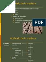 Acabado de La Madera1