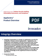 Appsentry Overview