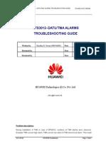 Bts3012 Datu-tma Alarms Troubleshooting Guide
