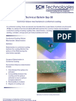 Technical Bulletin Sep 08 Conformal Coating Failure Mechanisms Delamination