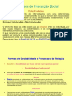 Processos Interaccao Social