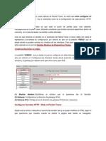 Configuraciones Packet Tracer
