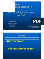 Microsoft Power Point - Auto-Avaliacao Escola Alaiz 2