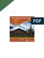 Folleto San Antonio de Lomerío