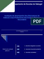 avaliaçãodesempenho 2010-2011