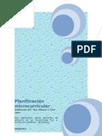 Planificación microcurricular