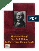 The Memoirs of Sherlock Holms by Sir Arthur Conan Doyle