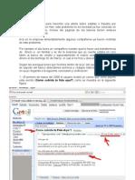 Ejemplo de Phishing  - Fraude transferencia bancaria