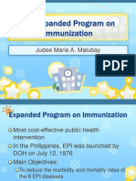 The Expanded Program on Immunization