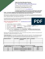 Test Information Form Sept 30 - Oct 1 2011