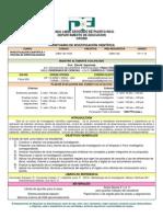 Prontuario de Investigacion 1 Curso 40 Sem 132-1533 - 09-01-2011