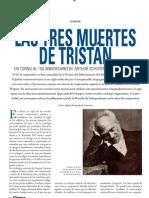 Las tres muertes de Tristán - En torno al 150 aniversario de Arthur Schopenhauer