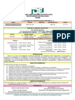 Prontuario de Investigacion 2 Curso 40 Sem 132-1534 - 09-01-2011
