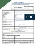 Anexa 1 Model Plan de Afaceri