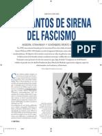 Los Cantos de Sirena Del Fascismo