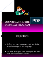 Vocabulary Training II2011