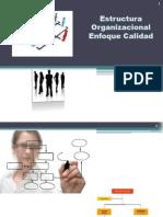 Estructura Organizacional Enfoque Calidad