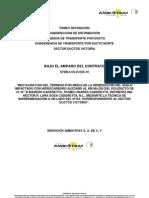 Presentación, Indice y Carta de Entrega 98+250