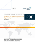 When Money Moves to Digital, Where Should It Go?  ComScore Research Report
