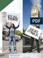 Communities in Control