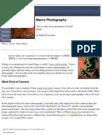 (Macro) - Macro Photography