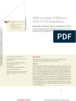 Differentiation of Effector CD4 T Cell Populations
