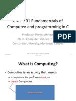 CMP 101 Set 1 Computing