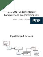CMP 101 Set 10 Input Output Devices