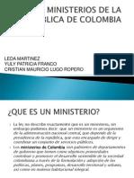 Ministerios de La Republica de Colombia[1]