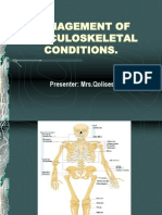 Management of Musculoskeletal Disorders[1]