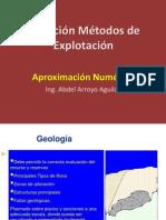 Selección Metodos de Explotación