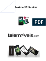 Telemóvel LG Maximo 2X Review