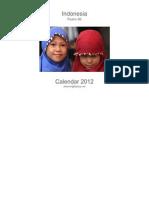 calendar asia 2012