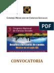 Convocatoria III Congreso de CS
