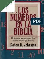 36222310 Johnston Robert Los Numeros en La Biblia