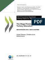 Wage Premium (OECD)
