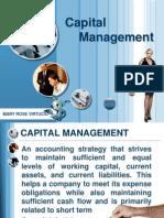 Capital Management
