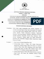Keppres Nomor 5 Tahun 2004 tunjangan Jabatan Fungsional Dokter Dokter Gigi Apoteker Asisten Apoteker Pranata Laboratorium Kesehatan...