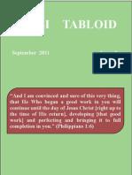 Tabloid September 2011