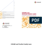 CEDAW and Muslim Family Laws