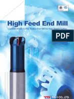 High Feed End Mill