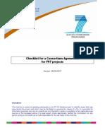 Consortium Agreement Checklist_en