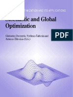 Stochastic and Global Optimization
