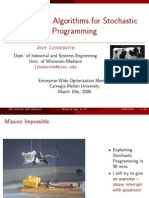 Models and Algorithms for Stochastic Programming, Financial Optimization