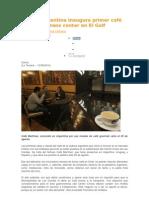 Cadena argentina inaugura primer café con business center en El Golf